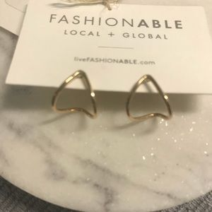 fashionABLE Jewelry - FashionABLE Gold Huggie hoops